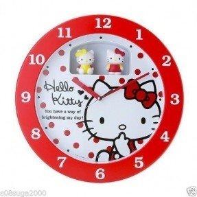 Gambar Jam Dinding Hello Kitty 7