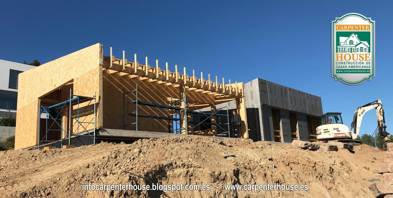 4 fase construcci n de casa energ ticamente eficiente en lli de vall Casas en llica de vall