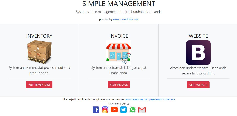 software kasir online