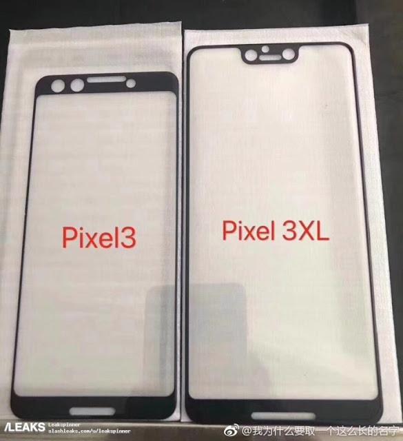 تسريب جديد يظهر التصميم الذي سيأتي به هاتفي جوجل Pixel 3 و Pixel 3 XL