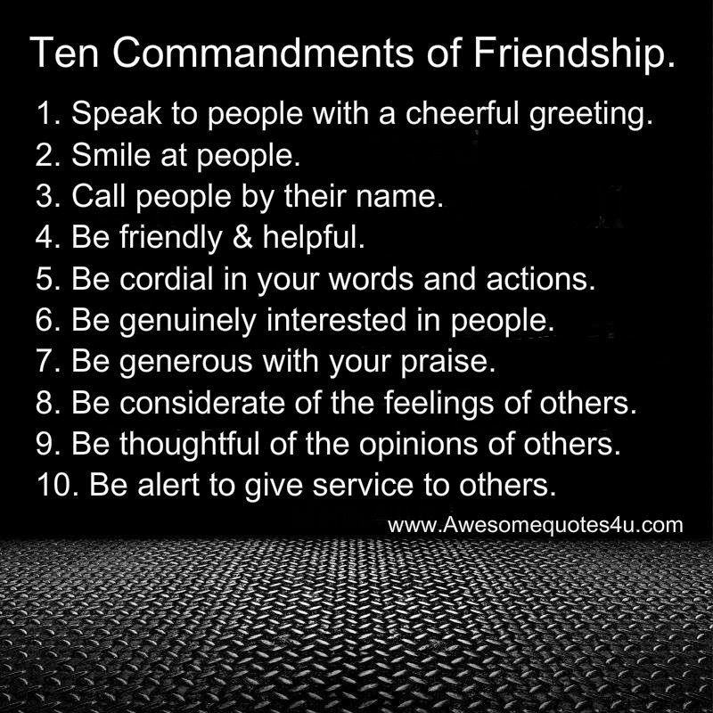 10 Important Dating Commandments