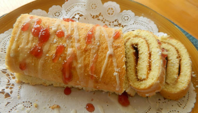 Elegant And Easy Swiss Roll Cake