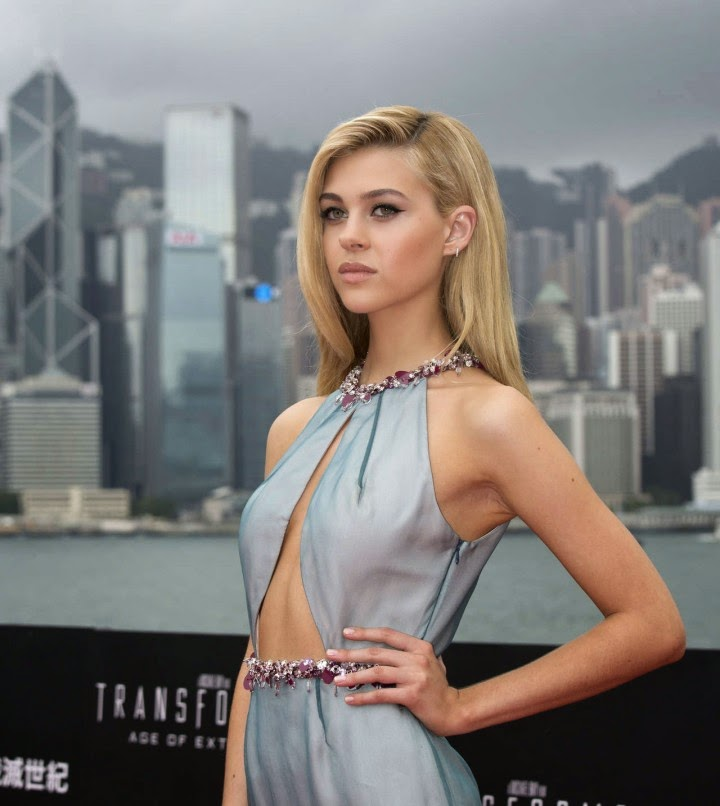 Nicola Peltz in Prada at the 'Transformers: Age of Extinction' World Premiere