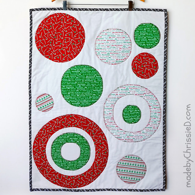 Ellipse Quilt Pattern by www.madebyChrissieD.com
