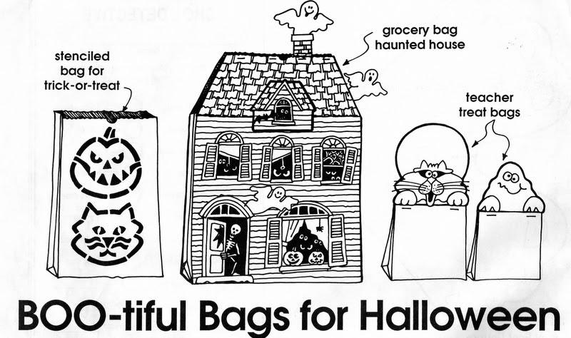 ELEMENTARY SCHOOL ENRICHMENT ACTIVITIES: BOO-TIFUL BAGS
