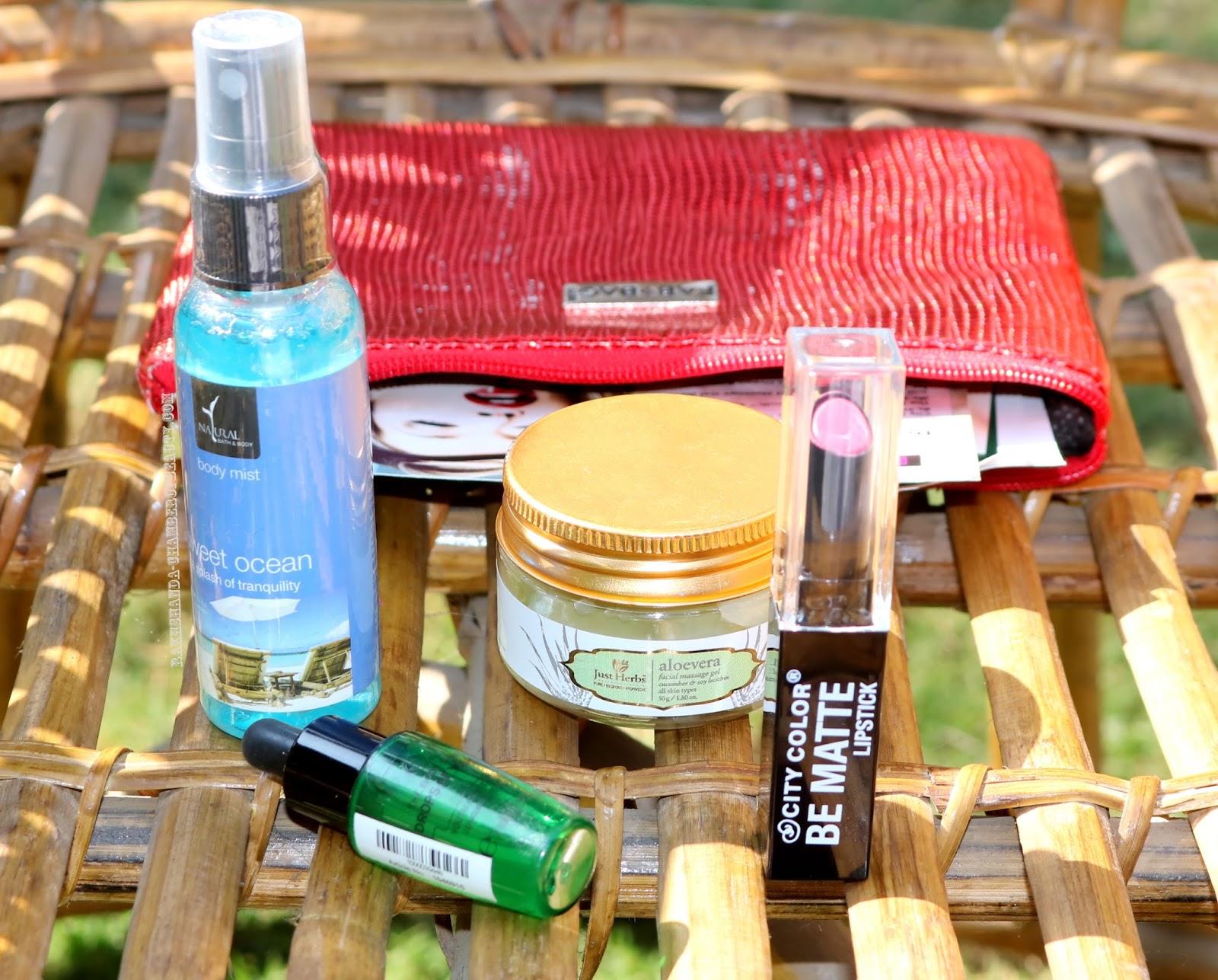 Beauty Bag, Beauty Subscription Box India, Fab Bag, Fab Bag 2016, Fab Bag November 2016