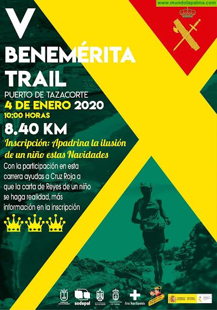 El Cabildo colabora con una nueva edición de la carrera solidaria Benemérita Trail