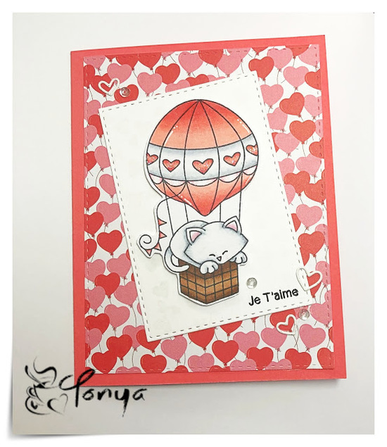 Je T'aime by Tonya features Newton Dreams of Paris by Newton's Nook Designs; #newtonsnook