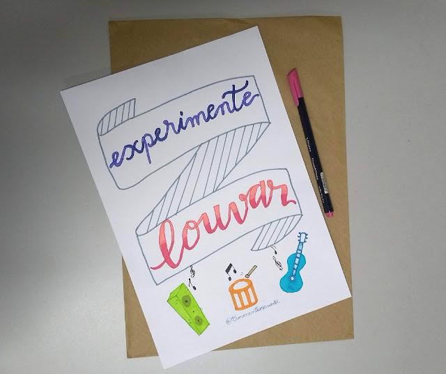 experimente-louvar-lettering-poster-tamaravilhosamente
