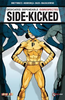 Side-kicked graphic novel cover