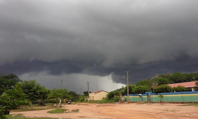 NOTÍCIA BOA: Previsão é de chuva em todas as regiões do Ceará até quarta-feira