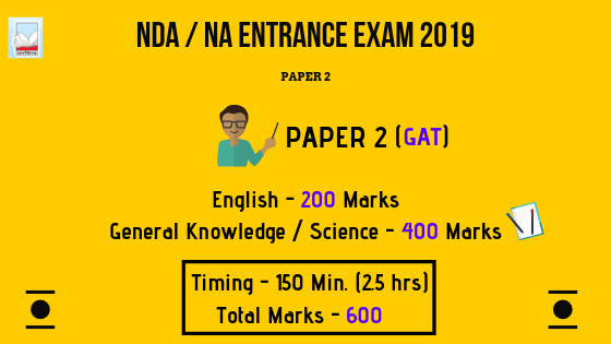 NDA / NA Entrance Exam 2019 - 2020 : Paper 2 | English, Science, G.K, P/C/B | Best Books