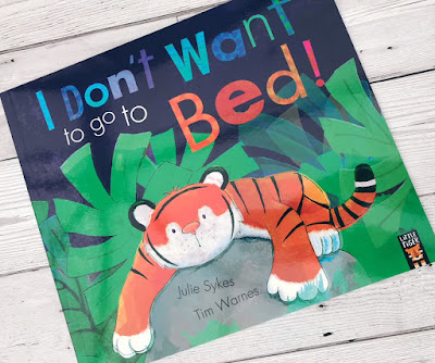 I don't want to go to bed book cover