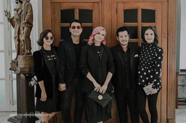 Ryza Cenon, Glaiza De Castro, Isabel Oli, John Prats at Chynna-Kean Wedding