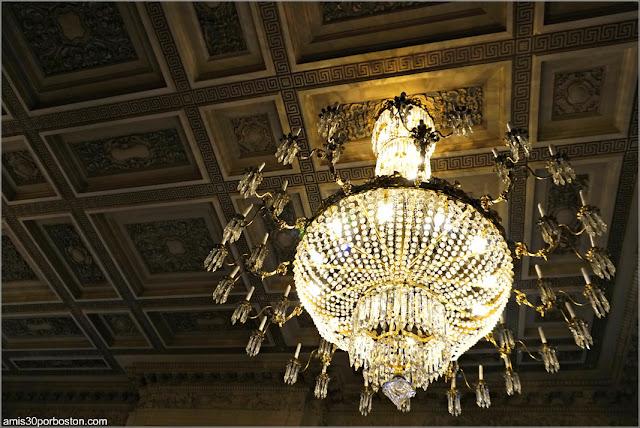 Lámpara de Araña del Salón de la Mansión Rosecliff, Newport