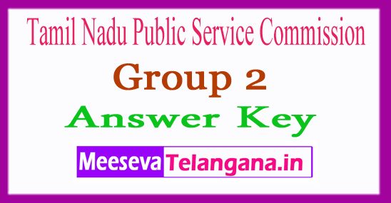 TNPSC Group 2 6 Aug Answer Key 2018 Expected Cut Off Result
