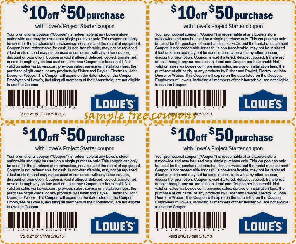 Lowes is one of the most popular home improvement stores in the United States. Quik Coupons makes it easy to access online coupons for Lowes with a printable Lowes coupon delivered right to your inbox. With the different coupon options available on our site, you will be sure to save big on your next Lowes purchase with a Quik Coupon.