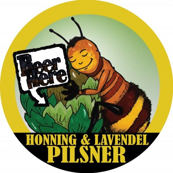 Honning & Lavendel Pilsner fra Beer Here
