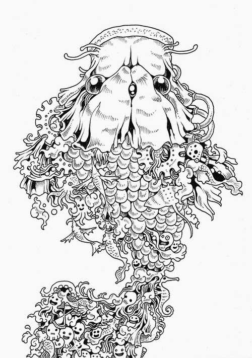 08-Filipino-Artist-Kerby-Rosanes-Doodle-Invasion-Drawings-www-designstack-co