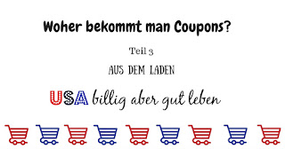 Coupons von den Shops