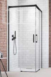Individual approach to glass shower doors