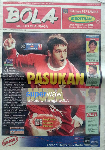Tabloid BOLA: PASUKAN MUDA