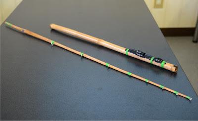 舟釣り 釣竿 自作 カレイ用 北海道