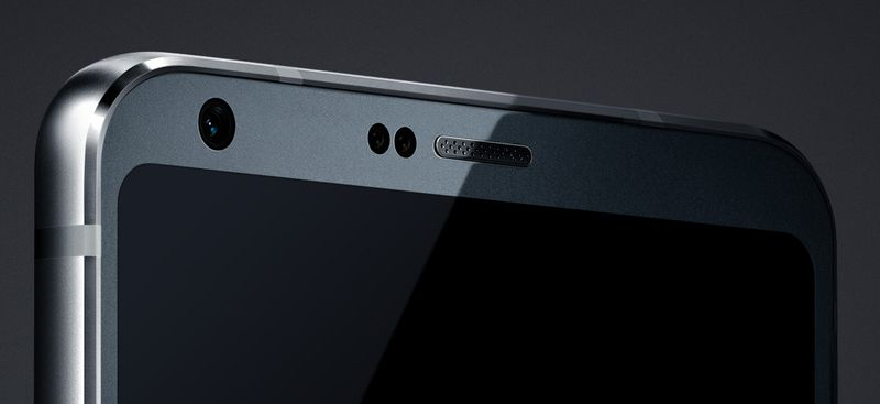 LG G6 rounded corner