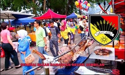 Senarai Bazar Ramadhan Negeri Sembilan 2019 (Lokasi)