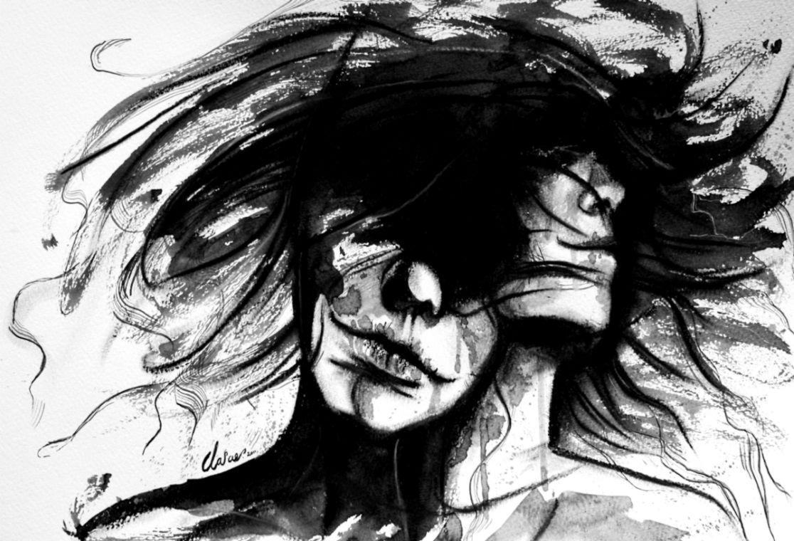 87 Gambar Abstrak Naruto Hitam Putih