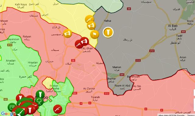 http://syria.liveuamap.com/en/2016/31-october-sdf-jaysh-thuwwar--and--jabha-akrad-shelling-isis
