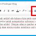 Cara input / Memasukan Gambar ke dalam Postingan Blog