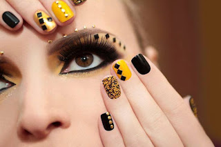 2016 spring trendy colors for nail-art