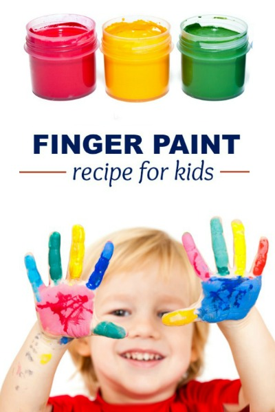 2-INGREDIENT FINGER-PAINT FOR KIDS (taste-safe recipe)  #paintingidea #artsandcraftsforkids #potatopaint