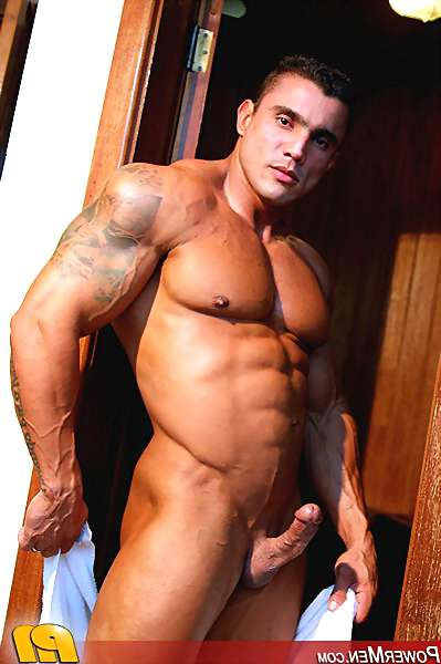 Watch Hot Muscley Gay Jerk Off