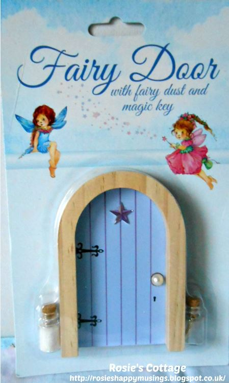 Fairy Door with fairy dust & key