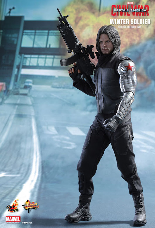 Mechanical Japan: Captain America: Civil War - Winter Soldier 1/6 Movie Masterpiece Series (Hot Toys)