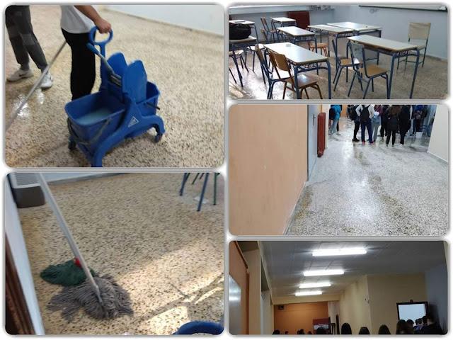 ΓΙΑΝΝΕΝΑ-Οι μαθητές του 1ου λυκείου,επέστρεψαν στο σχολείο τους και…έπιασαν δουλειά!