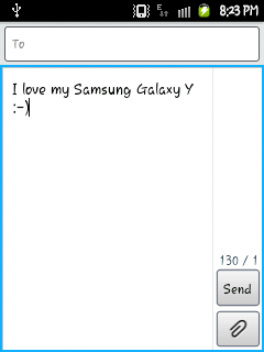 Home of GALAXY Young: [Font] S3 Rosemary Font For Galaxy Y