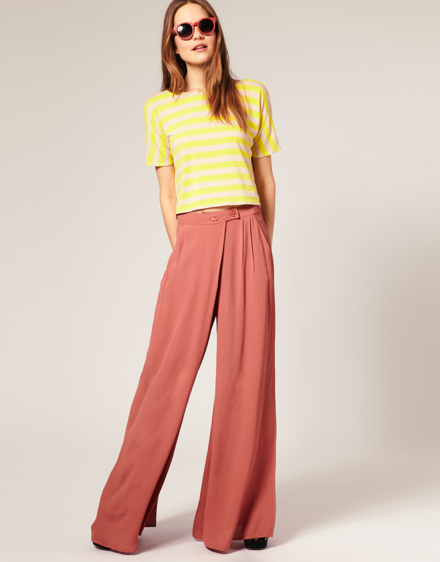 Hali Cali Women's Straight Beige/Navy Striped Pants Casual Loose Wide Leg fold Over Shop Best Sellers· Deals of the Day· Fast Shipping· Read Ratings & Reviews.