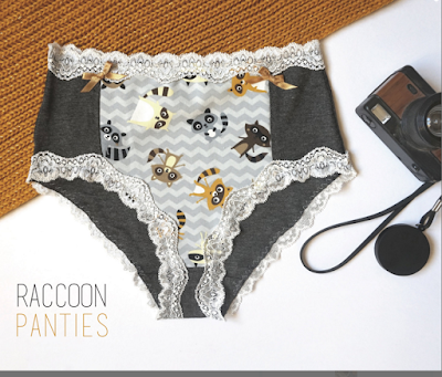 High Waisted Raccoon Panties