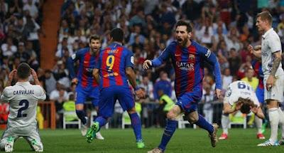 Messi Pahlawan Kemenangan Barca Atas Madrid