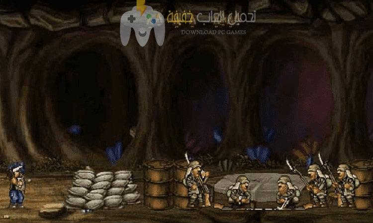 تحميل لعبة حرب الخليج القديمة Metal Slug