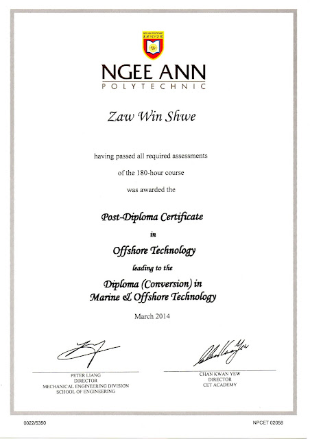 Post Diploma in Offshore Technology