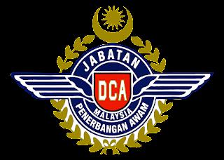 Jabatan penerbangan malaysia Logo Vector