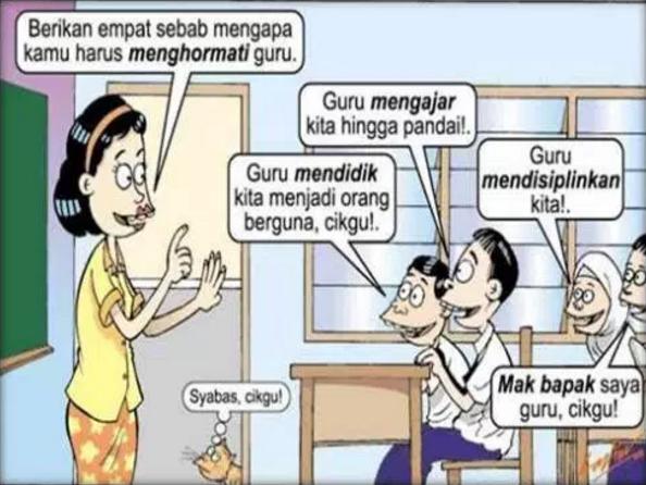 Kumpulan Cerita Humor Lucu Percakapan Guru vs Murid