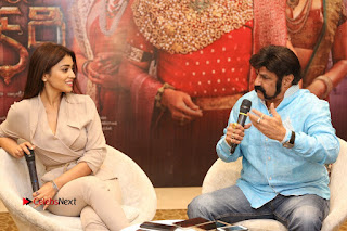 Shriya Saran Nandamuri Balakrishna at Gautamiputra Satakarni Team Press Meet Stills  0164.JPG