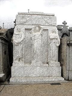 Jazigo da Família Mitre, no Cemitério da Recoleta, Buenos Aires