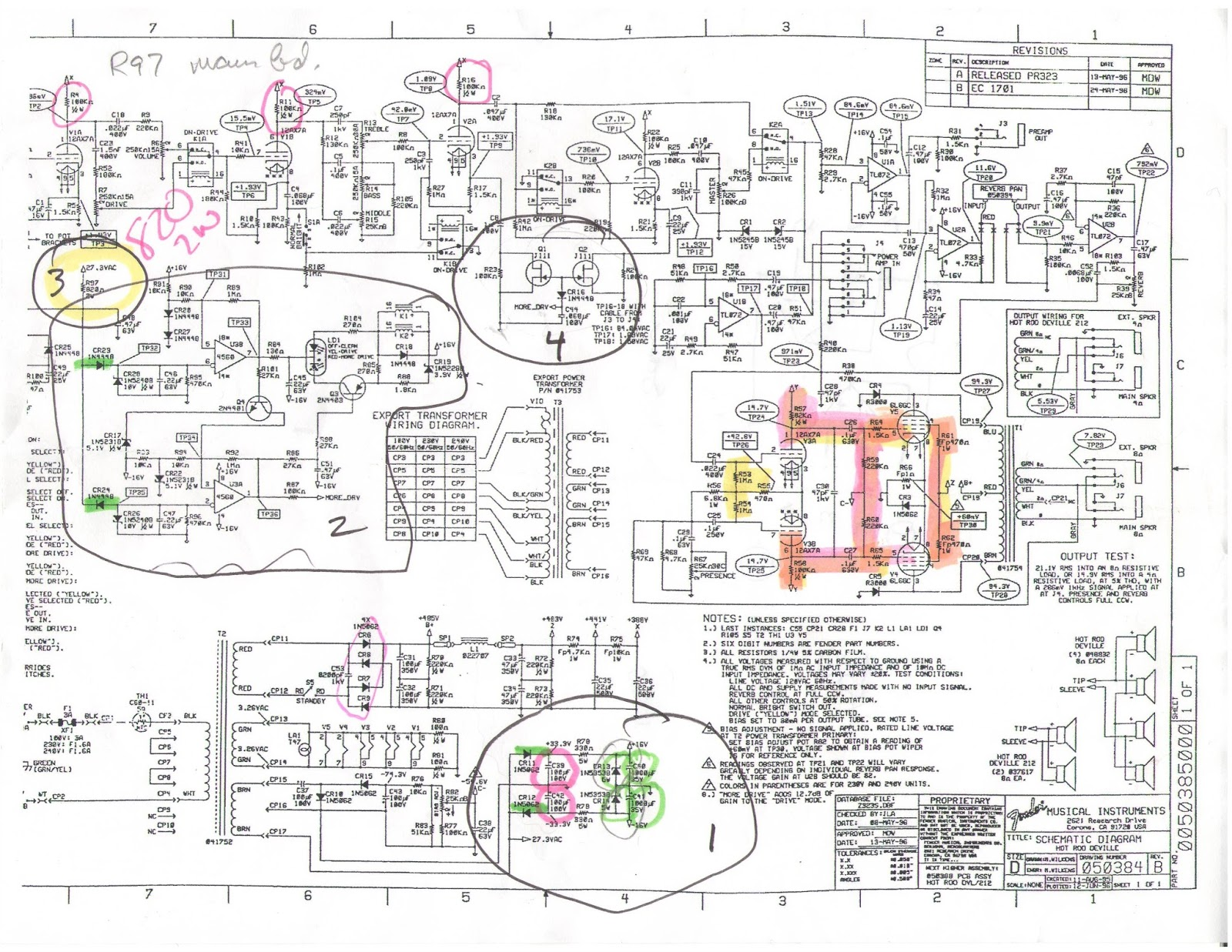 hot rod deville wiring diagram nissan sentra 2001 audio fender library