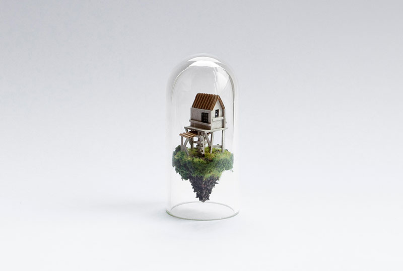 d8991809eb Tiny Dioramas Inside Test Tubes by Rosa de Jong